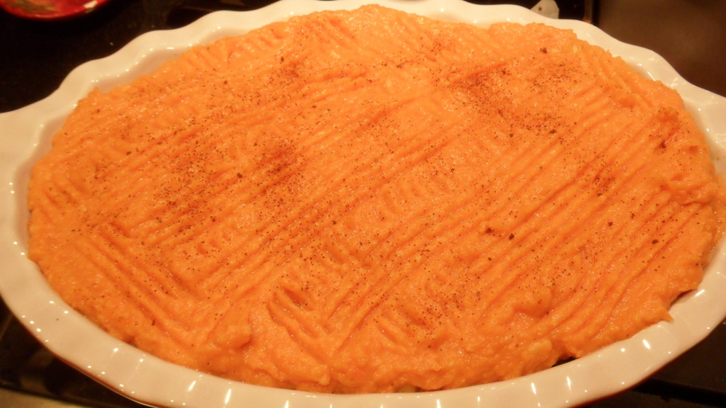 Well Dined | Sweet Potato and Turkey Shepard's Pie