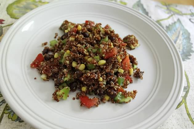 Well Dined | Mexican Style Quinoa Salad