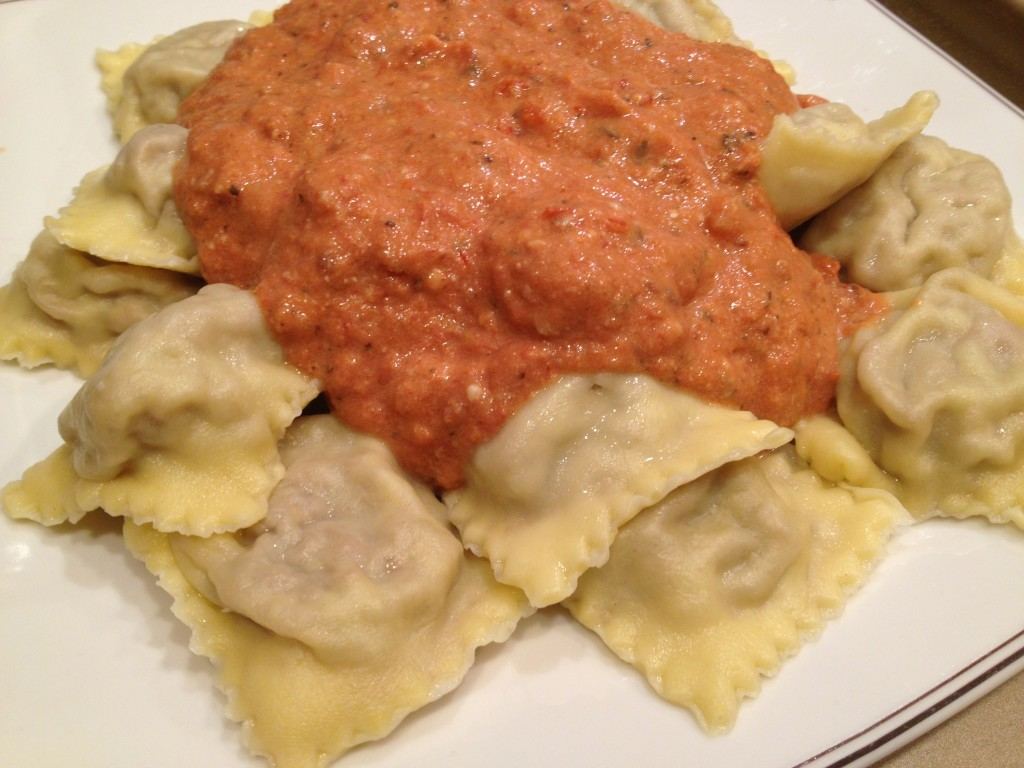 Well Dined | Homemade Meat Ravioli