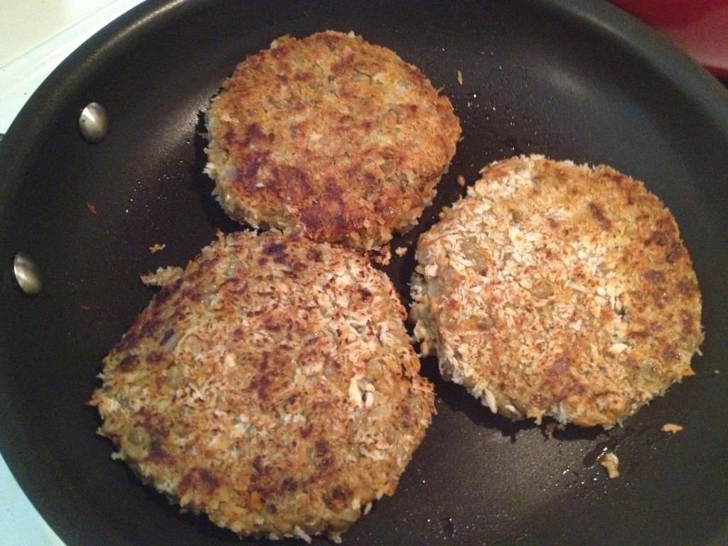 Well Dined | Homemade Veggie Burgers