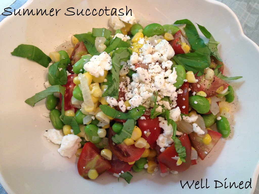 Well Dined | Summer Succotash