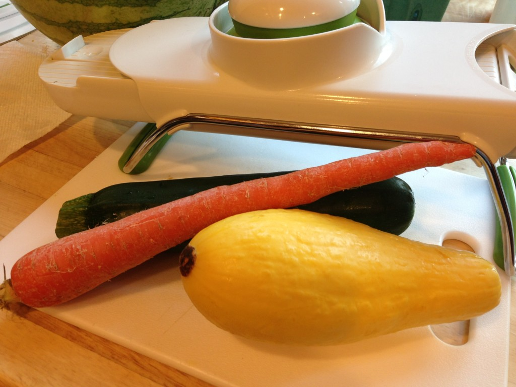 Well Dined | Sauteed Vegetable Julienne