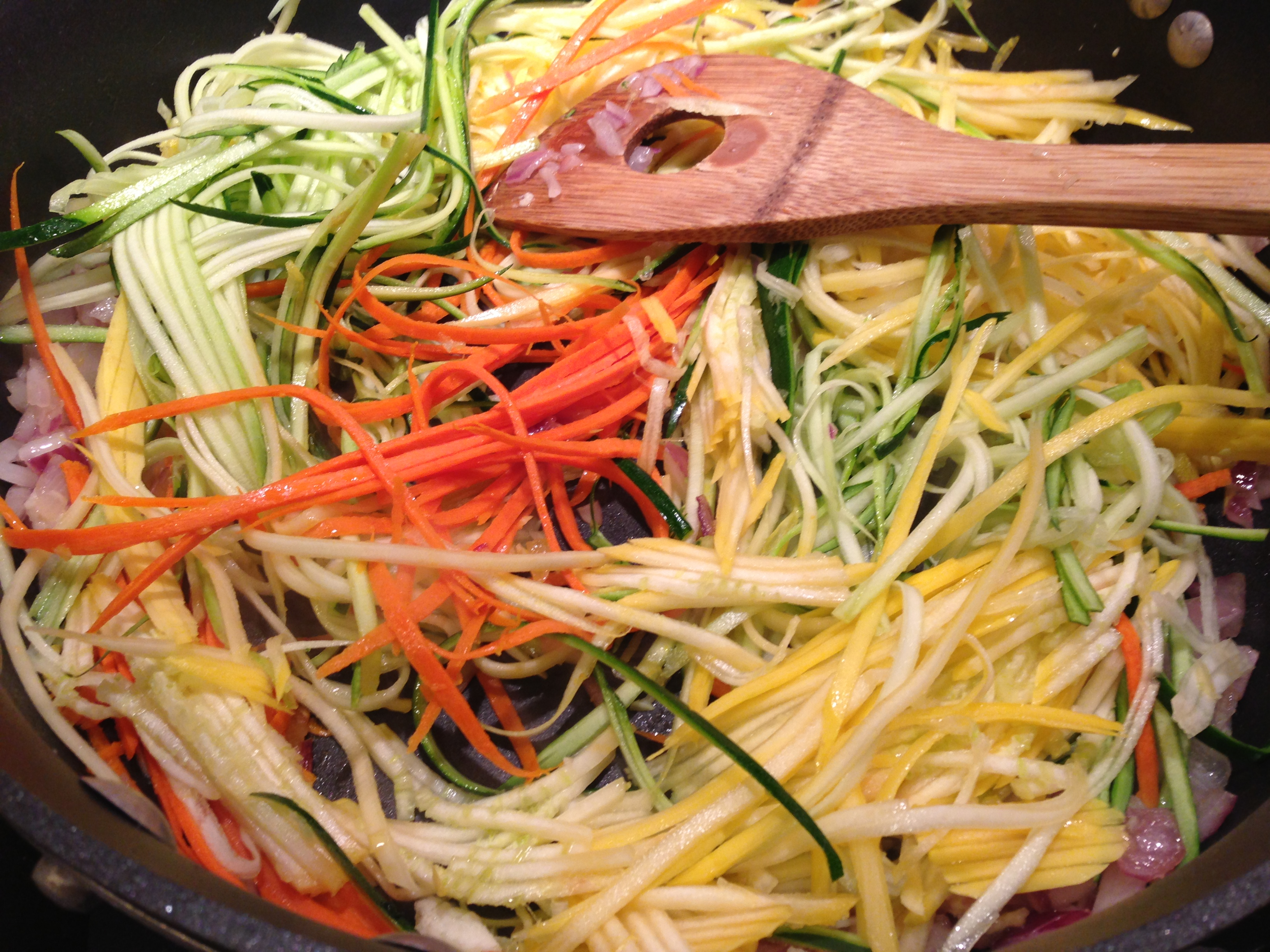 Not Pasta - Veggie Julienne « Well Dined