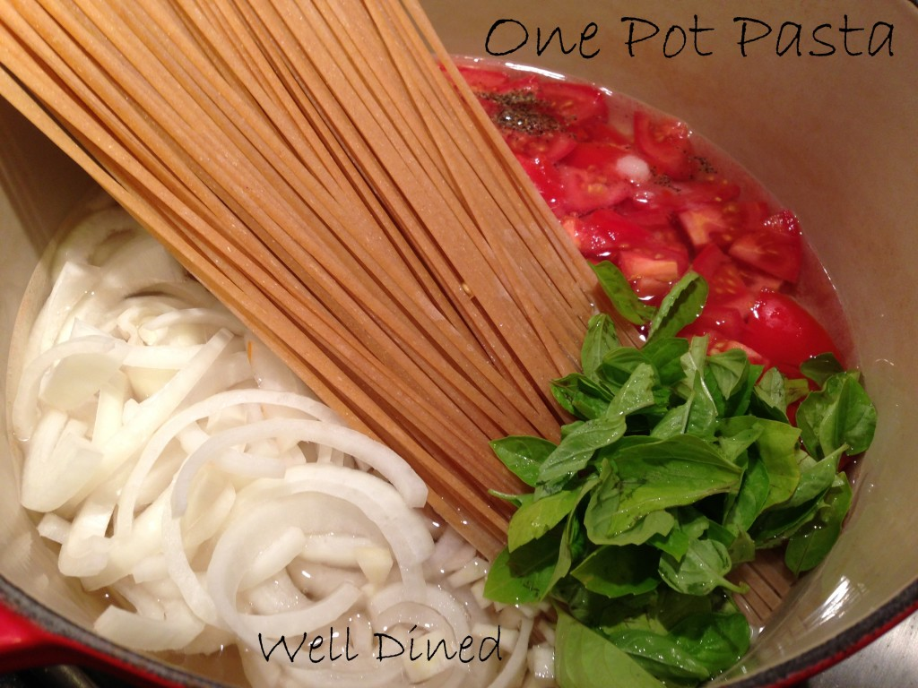 Well Dined | One Pot Pasta