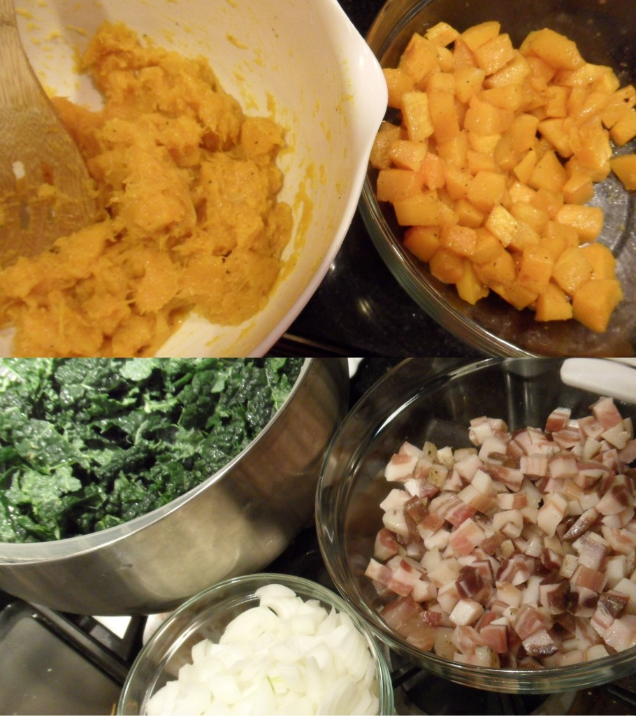 Well Dined | Butternut Squash and Kale Mac and Cheese