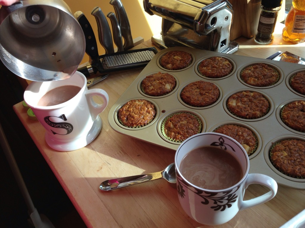Well Dined | Apple Oat Muffins