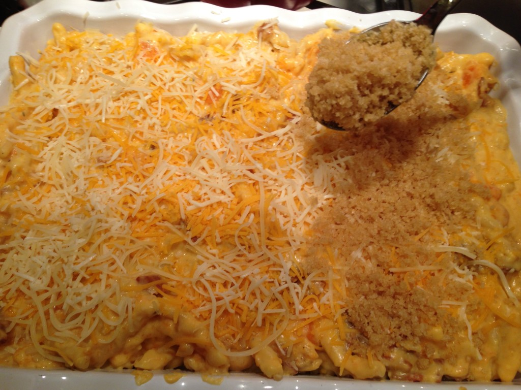 Well Dined | Butternut Squash and Bacon Mac and Cheese