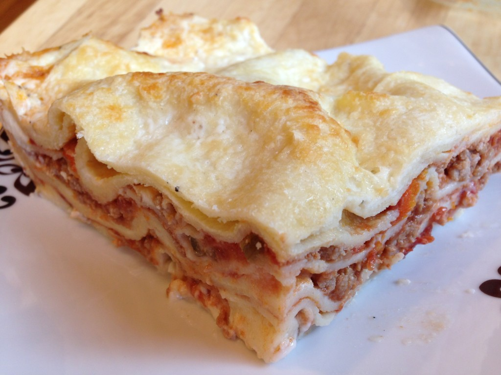 Well Dined | Best Ever Lasagna