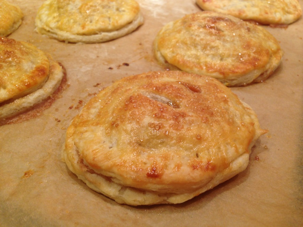 Well Dined | Salted Caramel Apple Hand Pies
