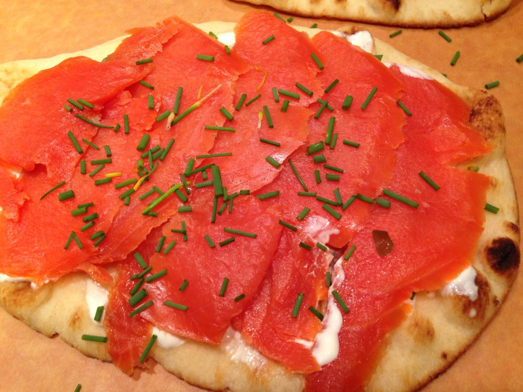 Well Dined | Salmon Pizzette