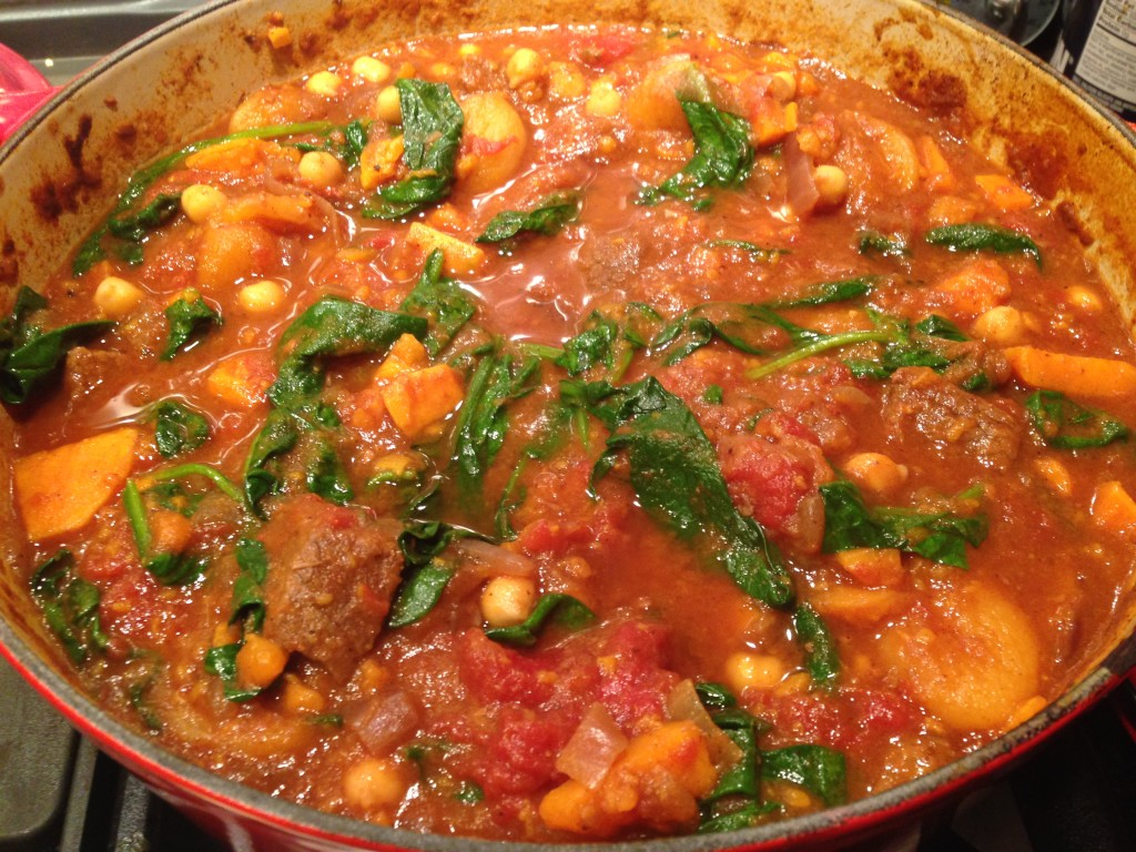 Well Dined | Spiced Beef and Sweet Potato Stew