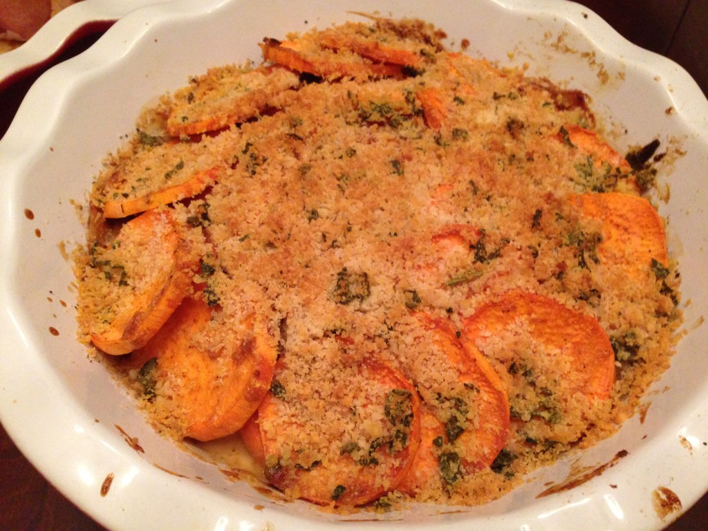 Well Dined | Sweet Potato Gratin