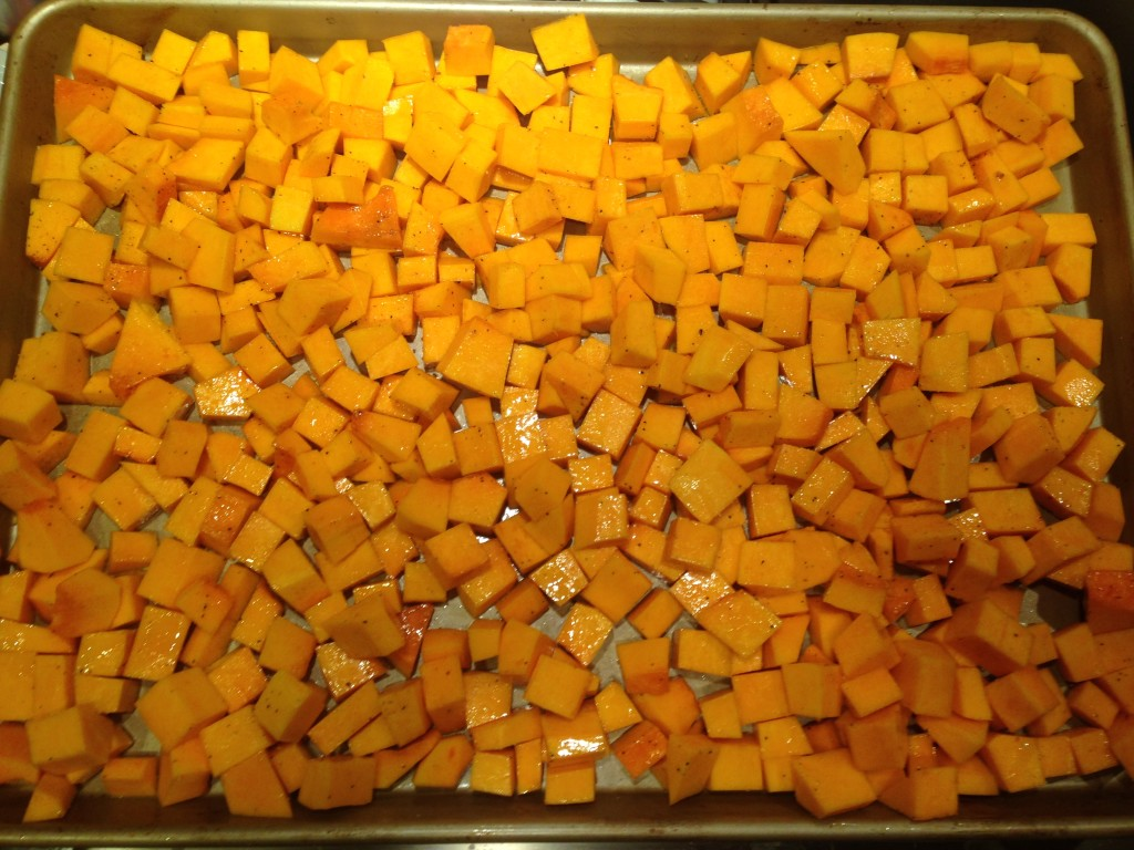 Well Dined | Roasted Butternut Squash