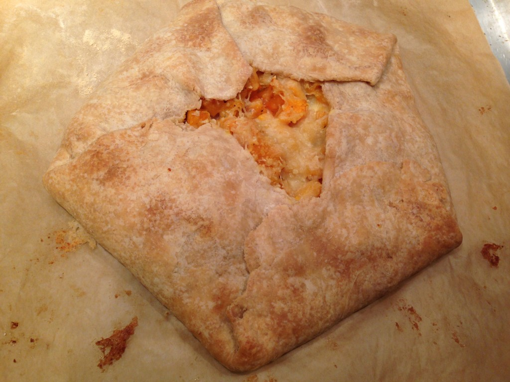 Well Dined | Roasted Butternut Squash, Caramelized Onion, and Goat Cheese Galette