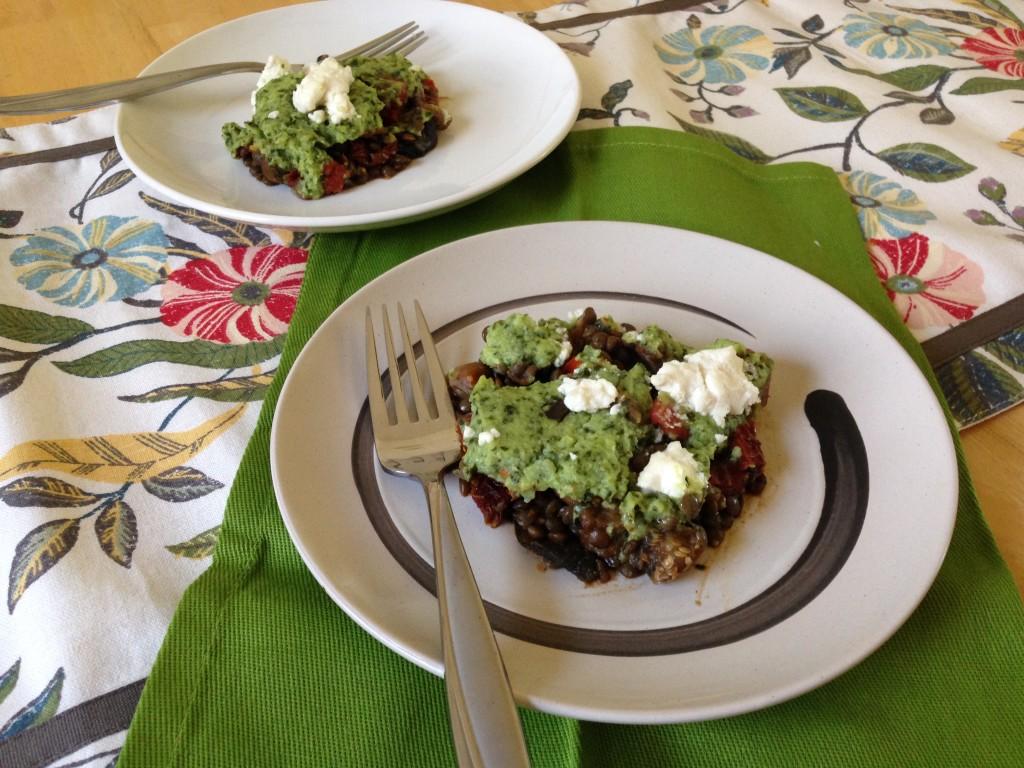 Well Dined | Vegetarian Shepherd's Pie