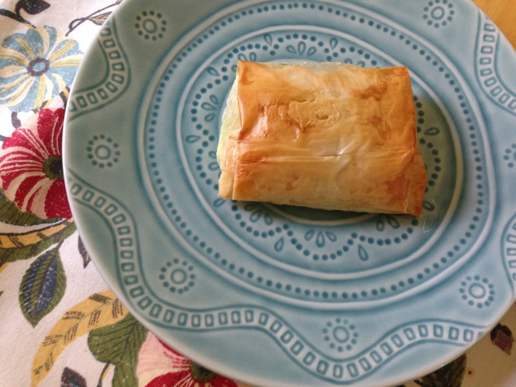 Well Dined | Spanikopita Strudels