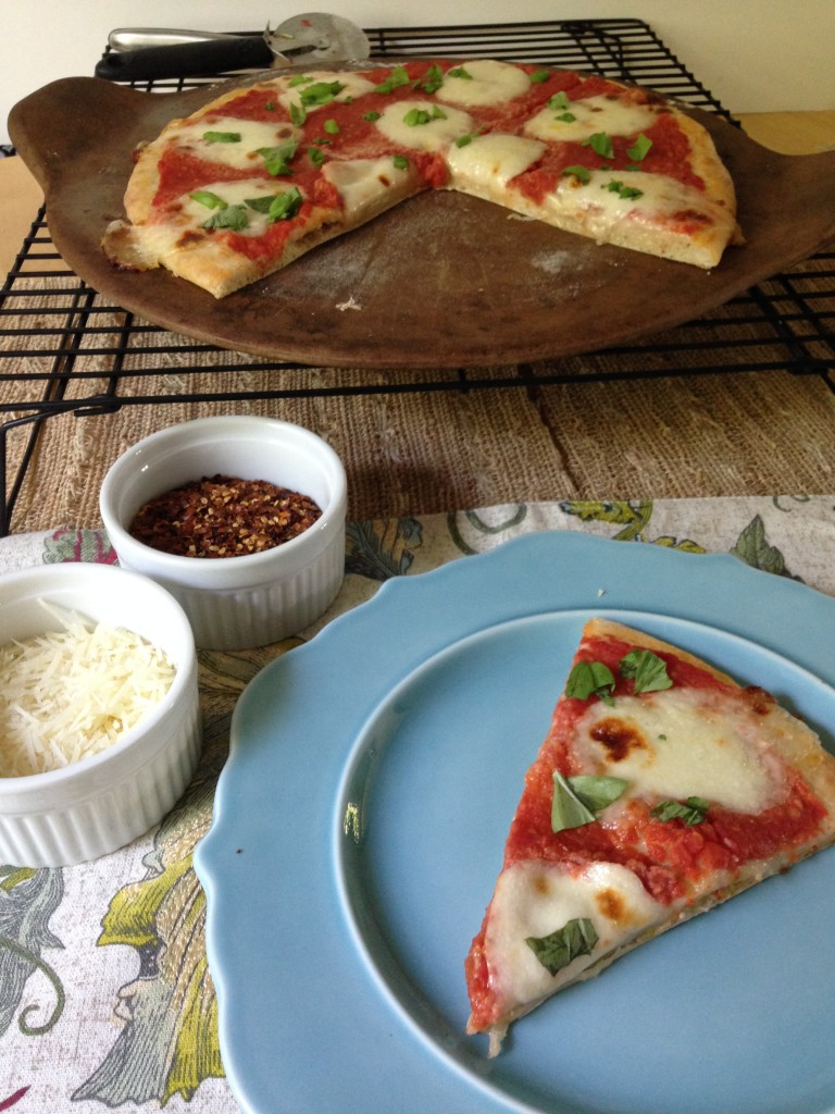 Well Dined | Margherita Pizza with Homemade Mozzarella