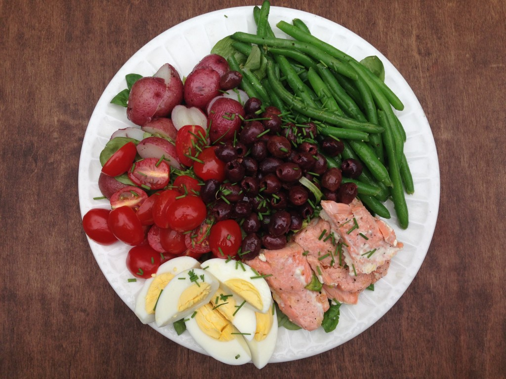 Well Dined | Salmon Nicoise Salad