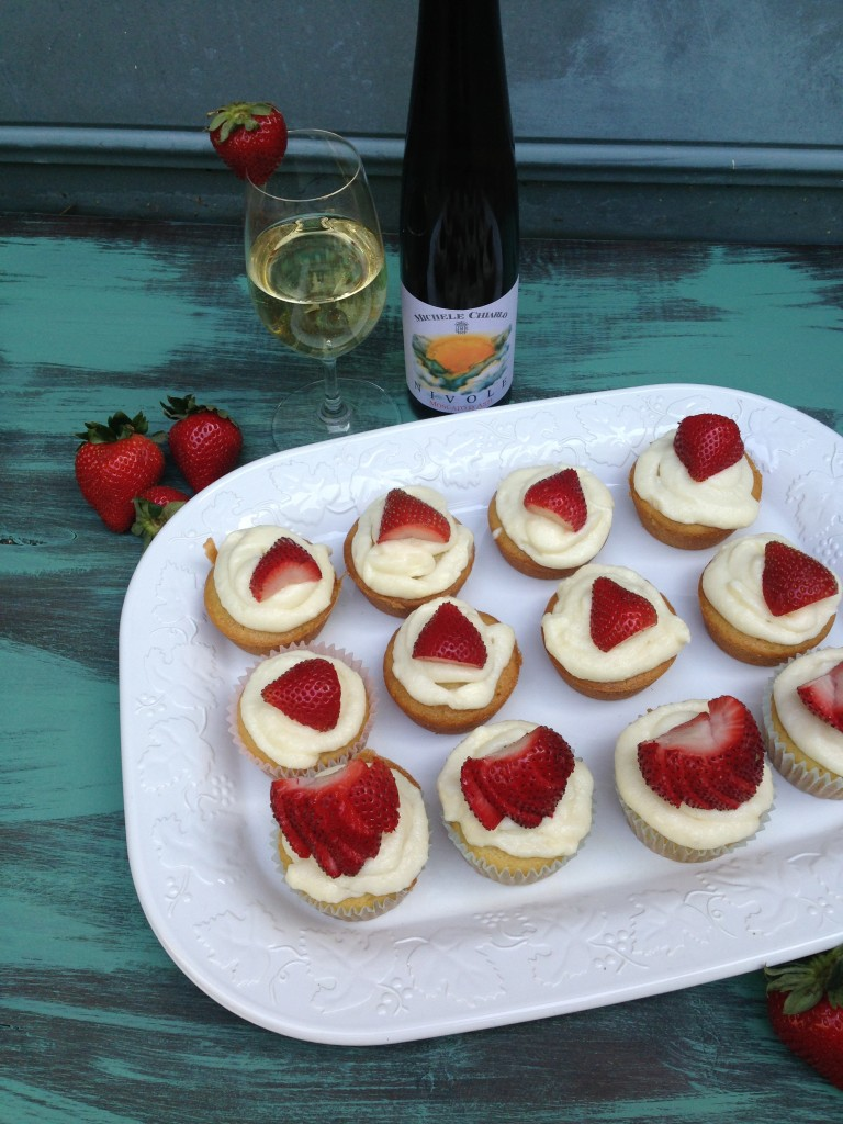 Well Dined | Moscato Cupcakes