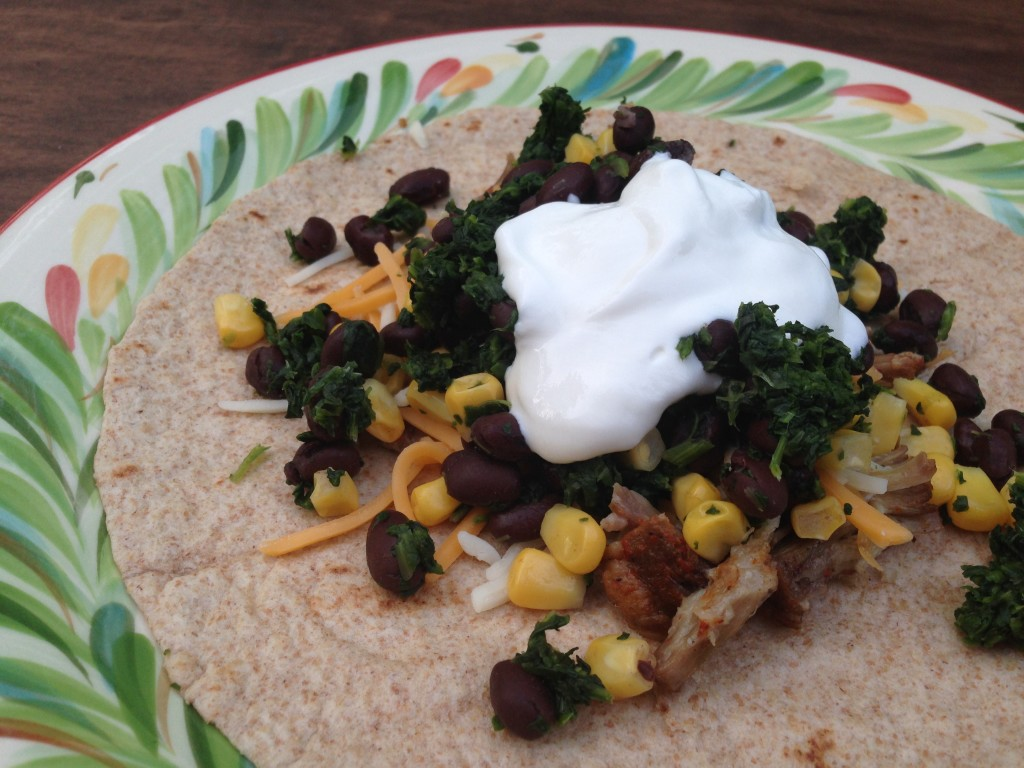 Well Dined | Pork and Veggie Tacos