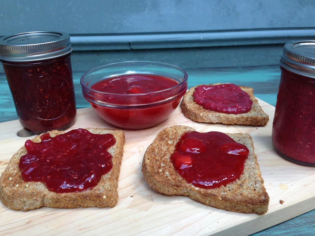 Well Dined | Spring Fruit Jam 3 Ways