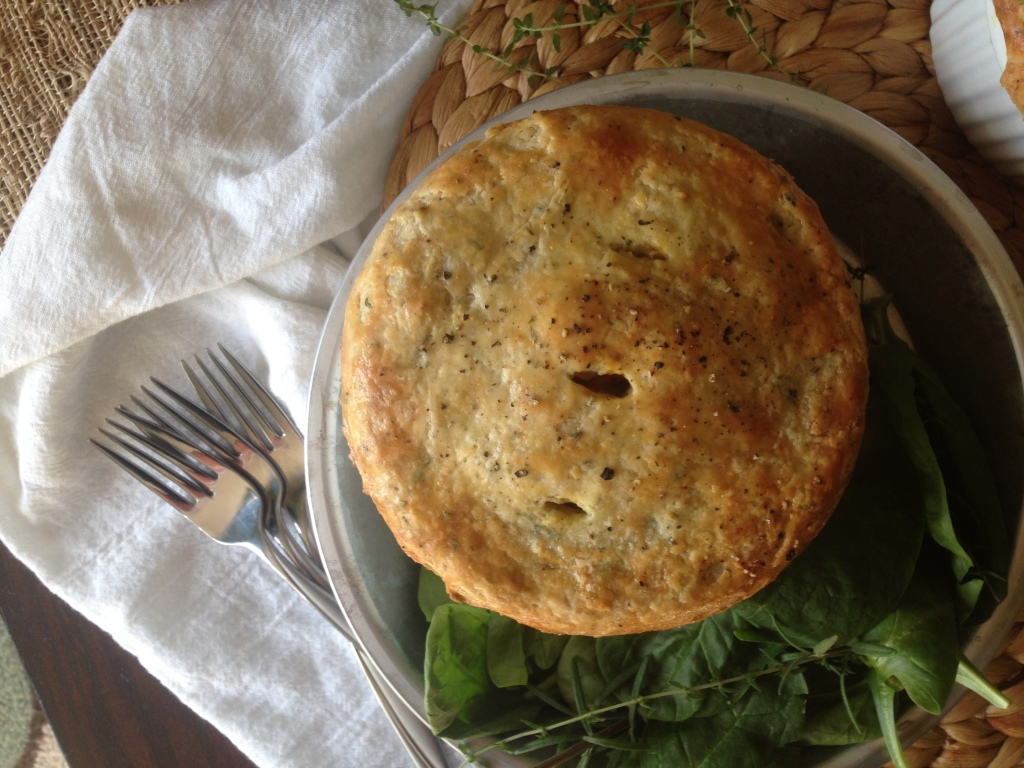 Well Dined | Roasted Autumn Vegetable Pot Pies