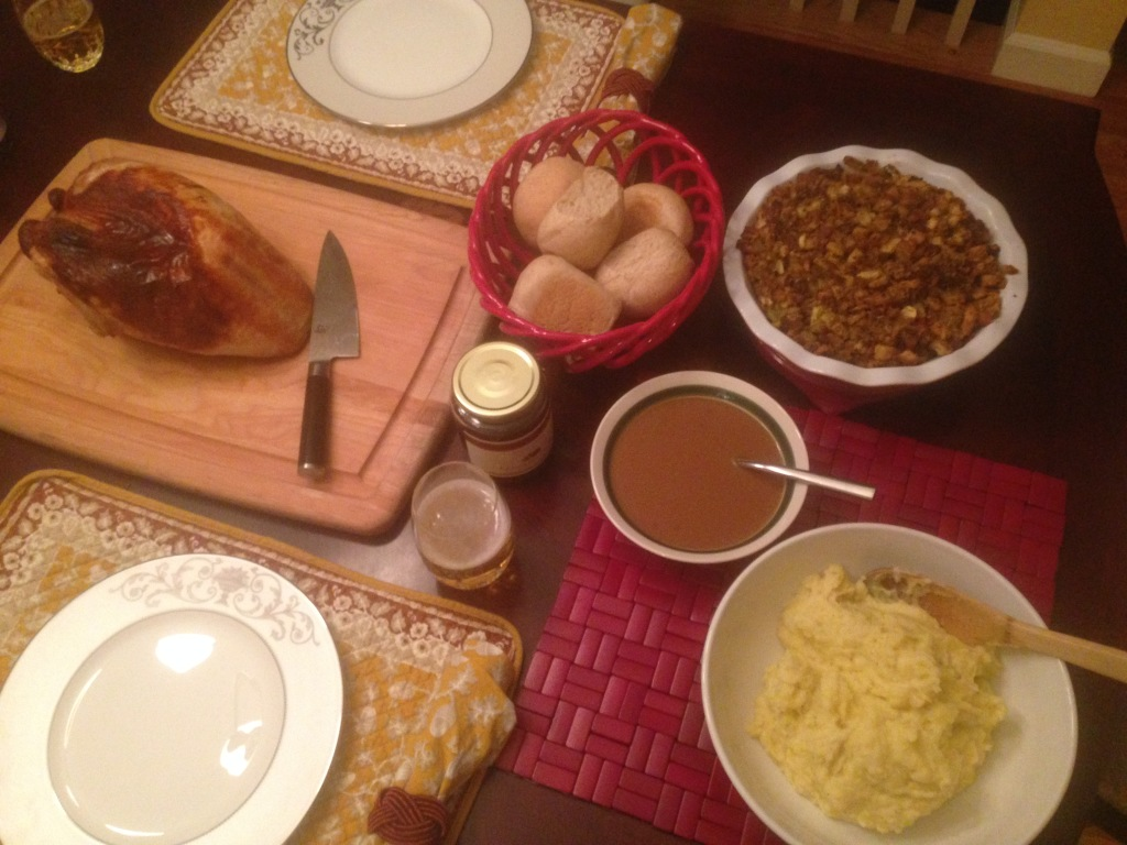 Well Dined | Thanksgiving Dinner 2014