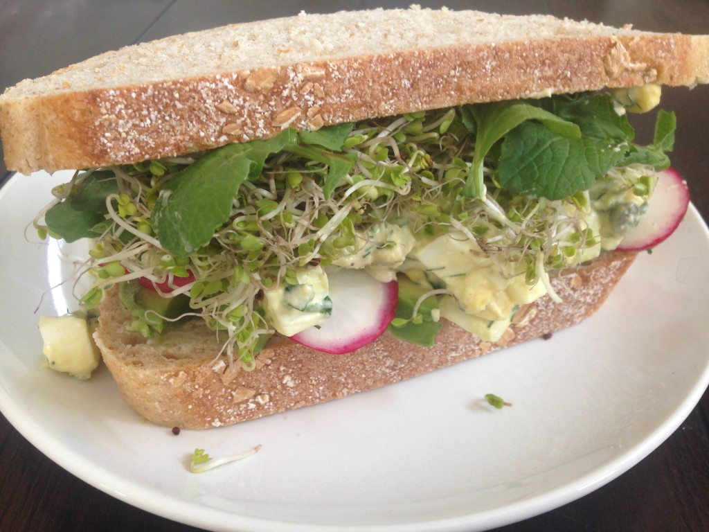Well Dined | Green Goddess Egg Salad