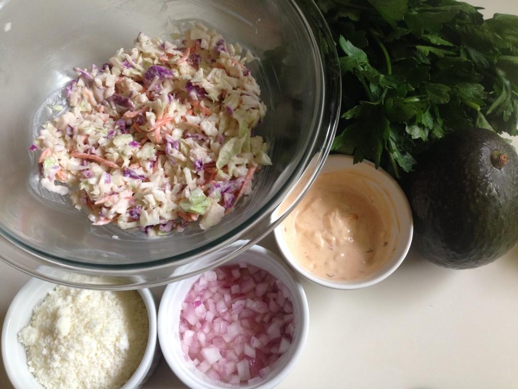 Fish Tacos With Honey-Cumin Cilantro Slaw And Chipotle Mayo Recipes ...