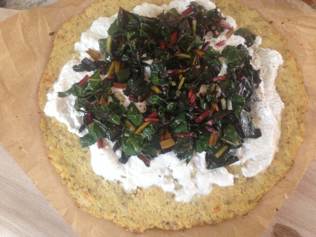 Well Dined | Ricotta and Chard Pizza