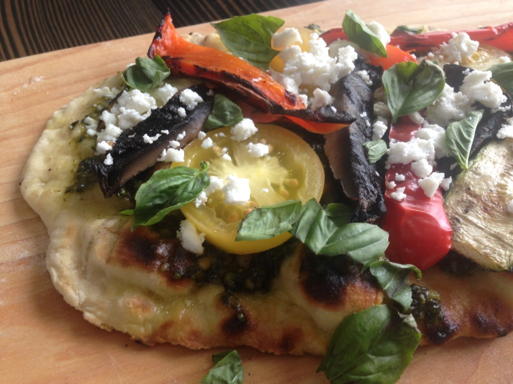 Well Dined | Grilled Vegetable Flatbread