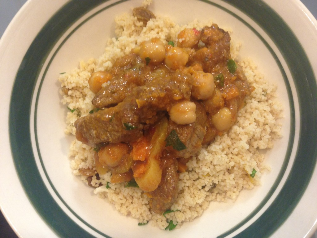 Well Dined | Moroccan Stew with Couscous