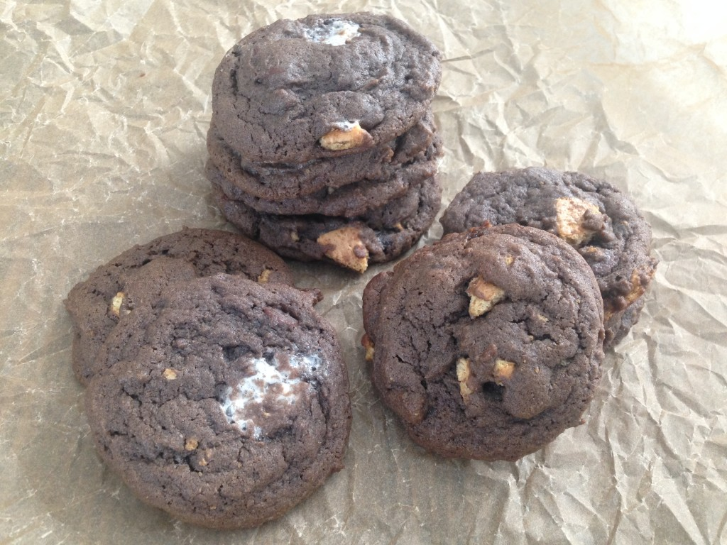 Well Dined | S'mores Cookies