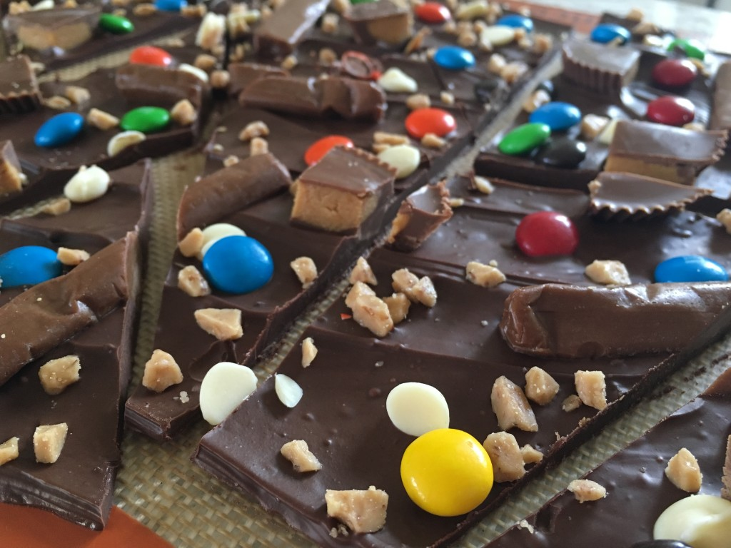 Well Dined | Halloween Candy Bark