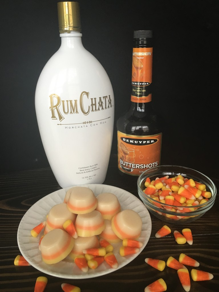 Well Dined | Candy Corn Jello Shots