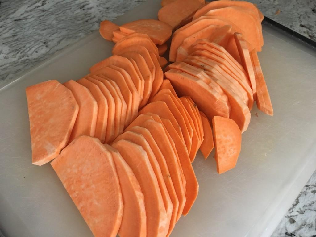 Well Dined | Sweet Potato and Swiss Chard Gratin