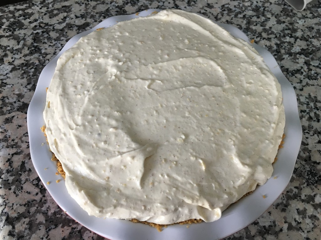 Well Dined | No Bake Eggnog Pudding Pie