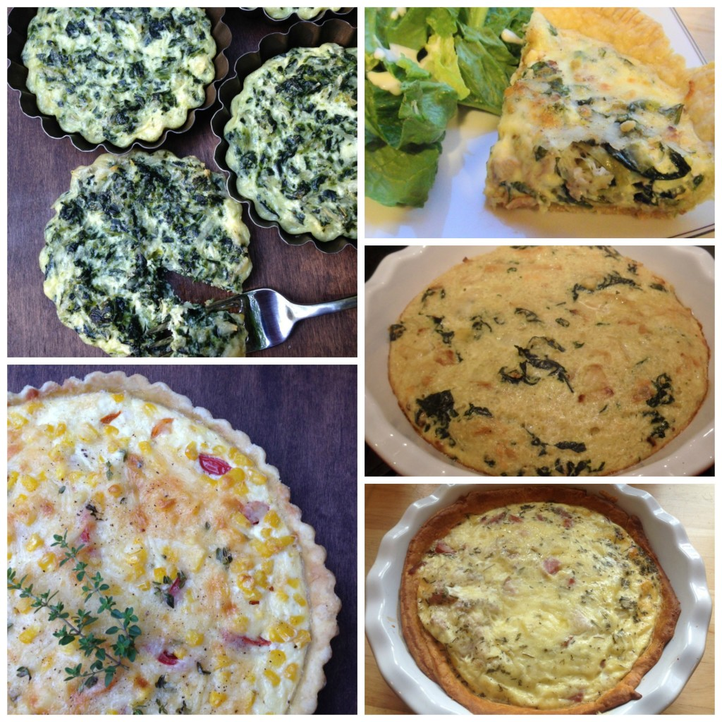 Well Dined | Easter Quiches