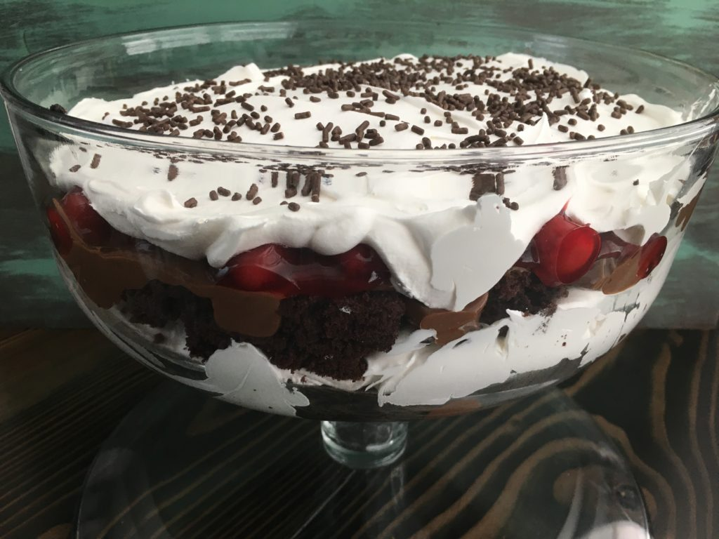 Well Dined | Black Forest Trifle
