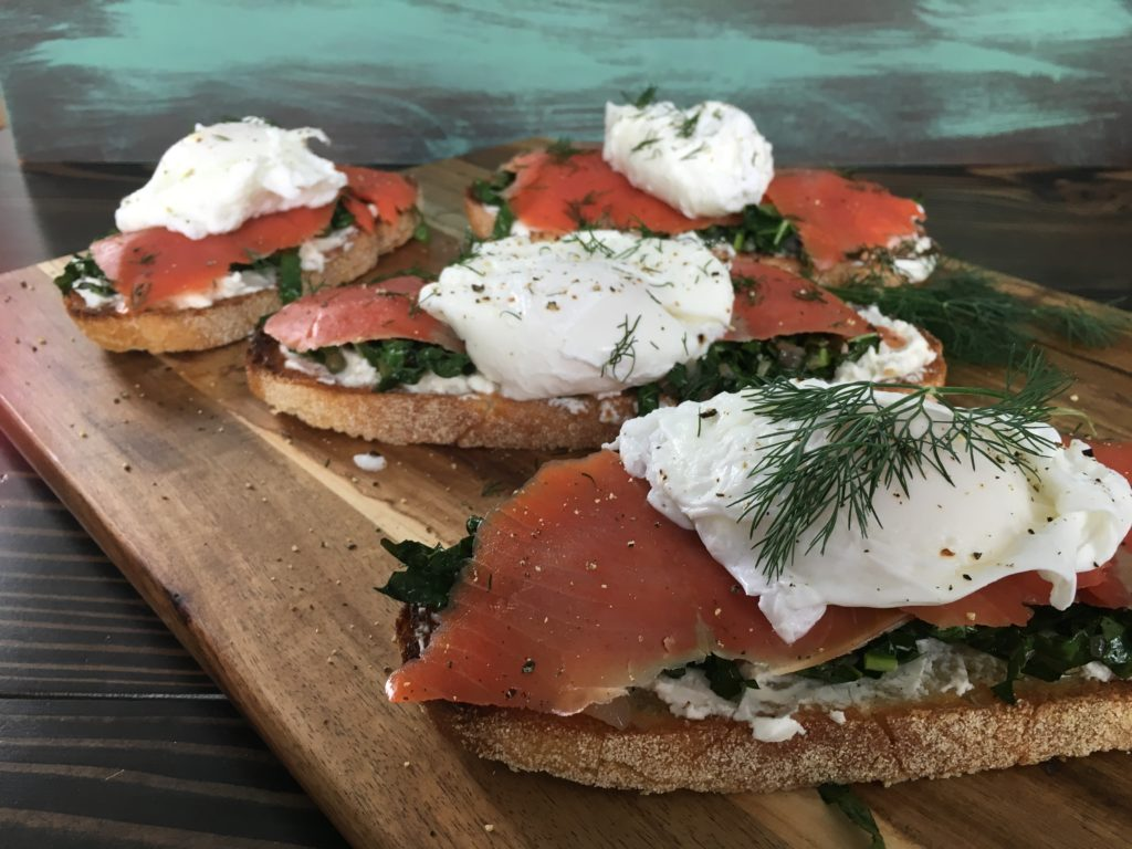 Well Dined | Smoked Salmon Tartines