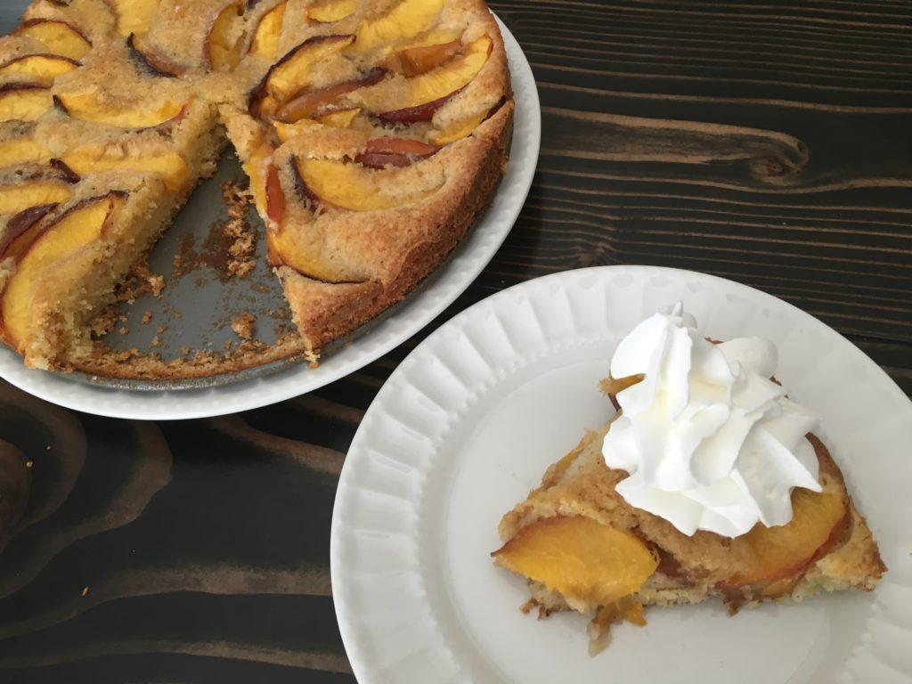 Well Dined | Golden Nectarine Cake