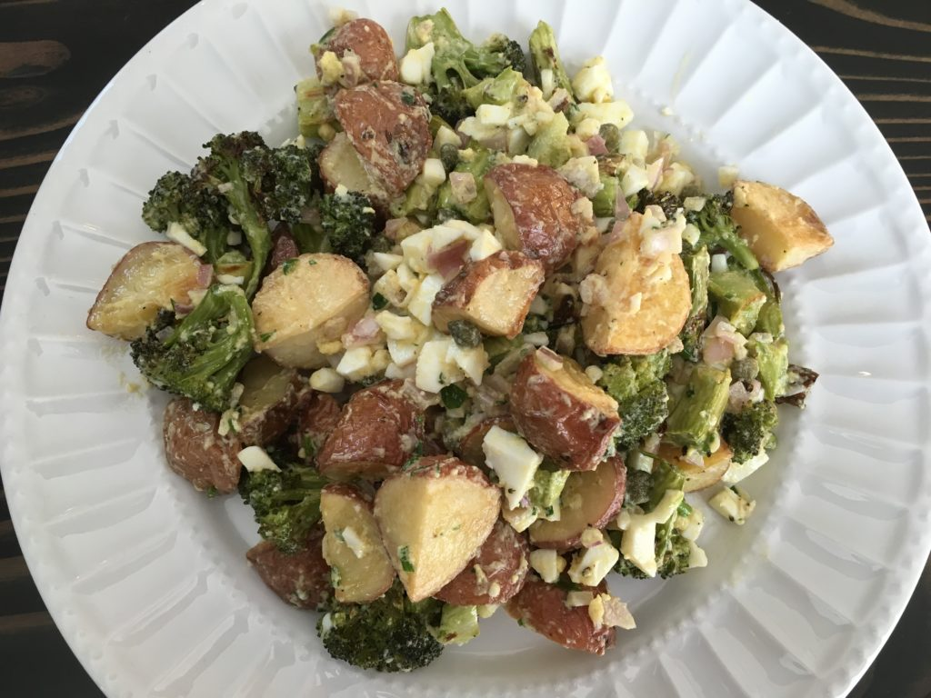 Well Dined | Broccoli and Potato Gribiche