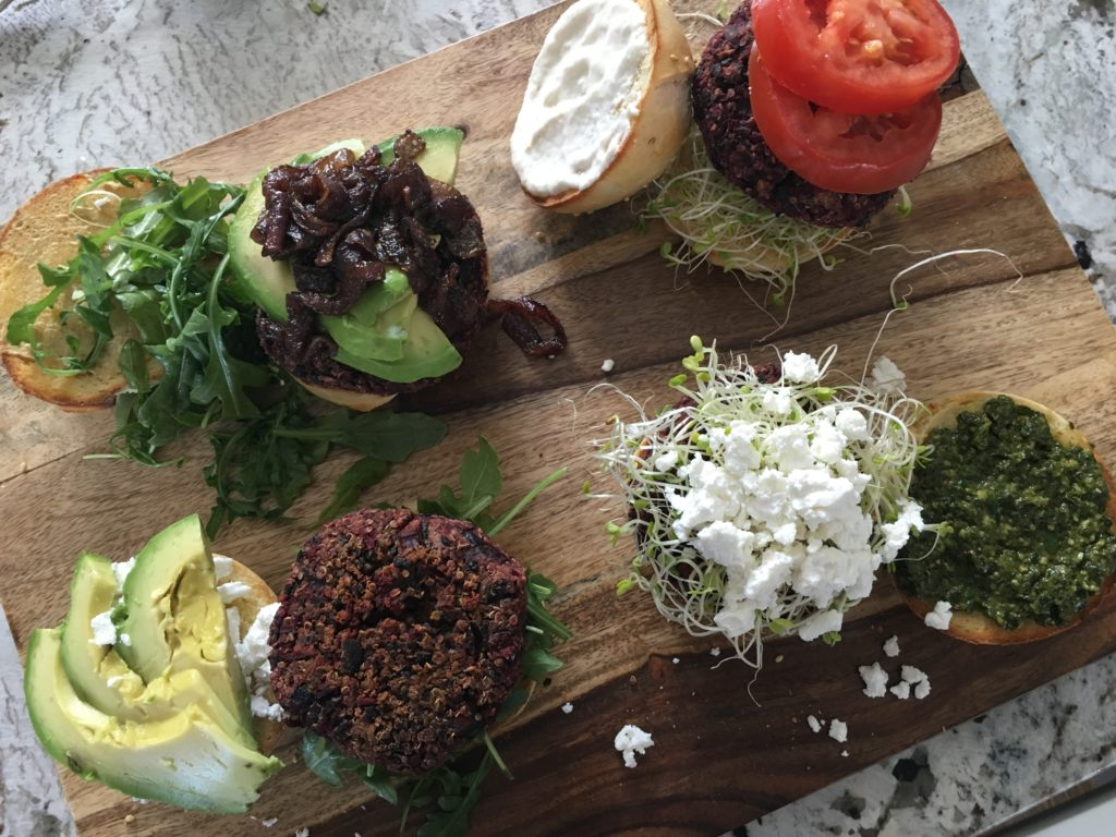Well Dined | Vegetarian Beet Burgers