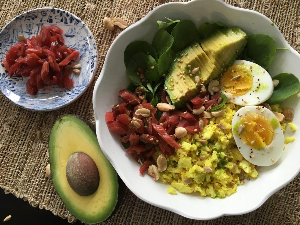 Well Dined | Rainbow Cauliflower Bowl