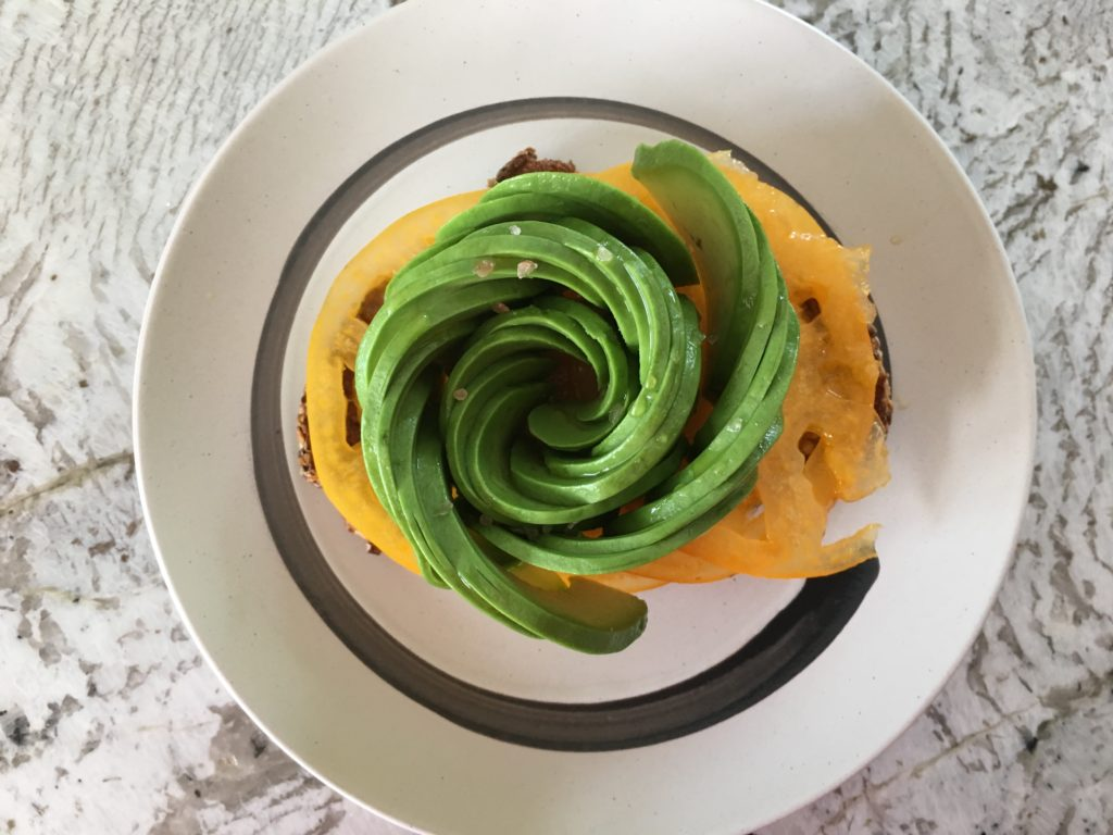 Well Dined | Avocado Rose Toast