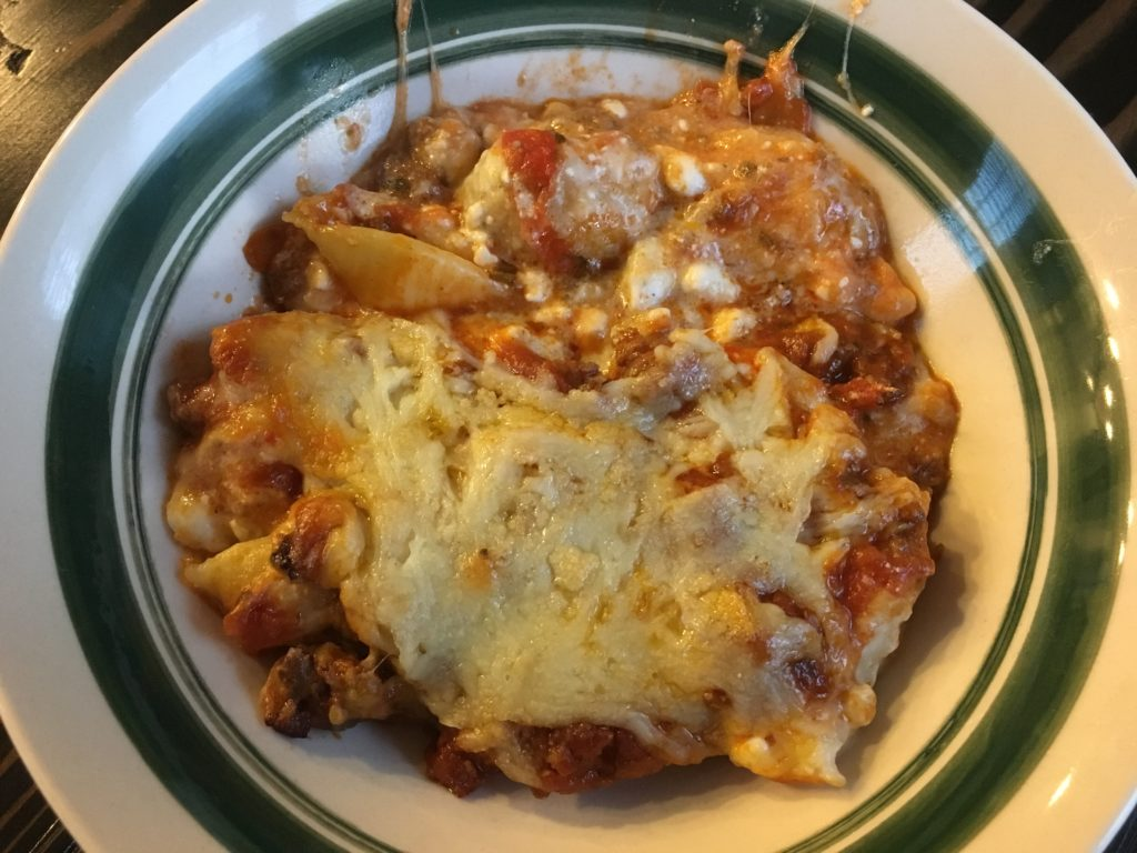 Well Dined | Stuffed Shell Casserole