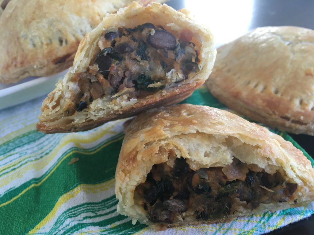 Well Dined | Sweet Potato, Black Bean, and Spinach Empanadas