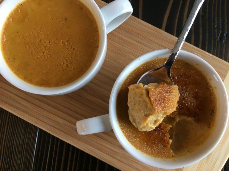 Well Dined | Pumpkin Maple Custards