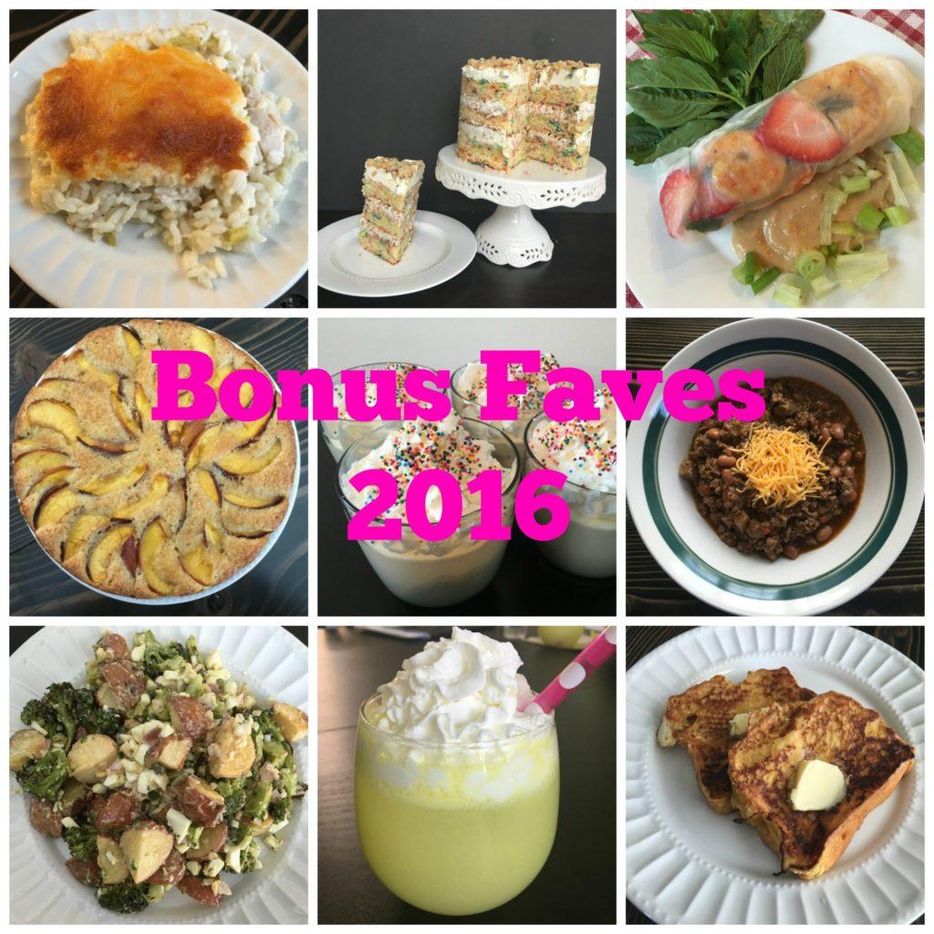 Well Dined | Bonus Faves 2016