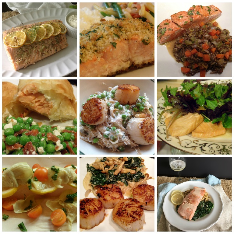 Well Dined | Seafood Dishes